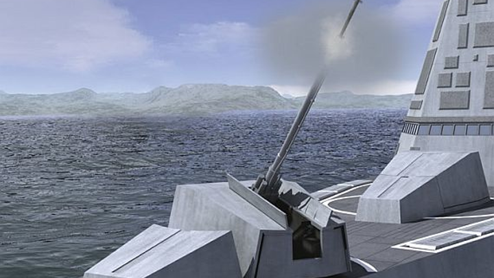 Navy asks Lockheed to test and fine-tune LRLAP smart munitions for shipboard gun systems