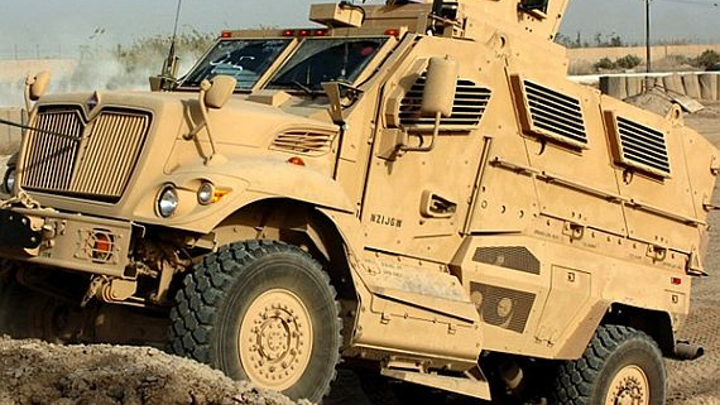 Navistar to repair and upgrade as many as 450 MRAP armored military vehicles and vetronics