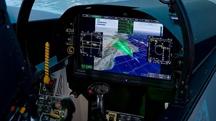 Navy orders 101 advanced multi-purpose displays (AMPD) for carrier-based combat jet avionics