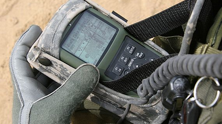 Air Force readies potential five-year contract to Rockwell Collins to provide handheld GPS navigation