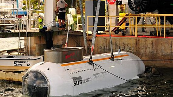 Lockheed Martin to develop Special Operations mini-submarine based on commercial technologies