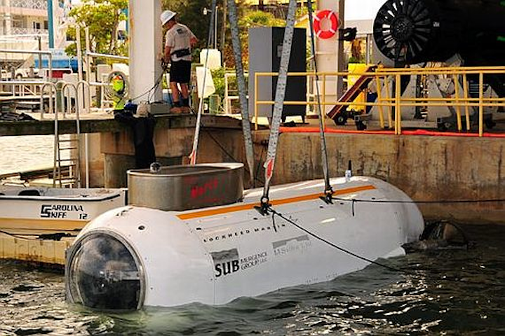 Lockheed Martin to develop Special Operations mini-submarine based