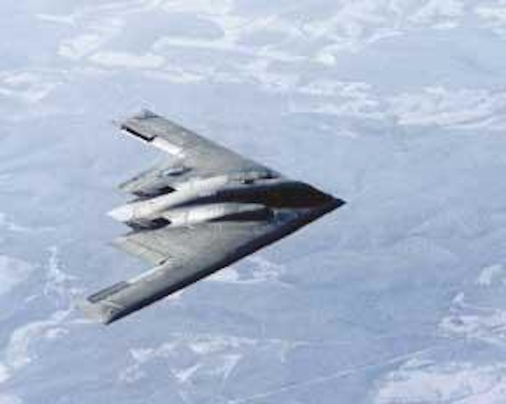 New battery for B-2 bomber increases power fivefold