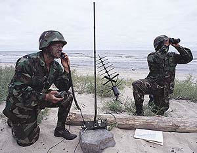 Military communications technology makes the switch