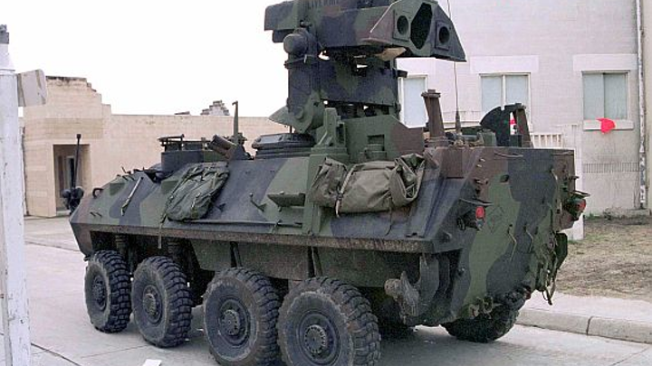 Raytheon moving forward on upgrading Marine Corps LAV armored vehicle with anti-tank missile