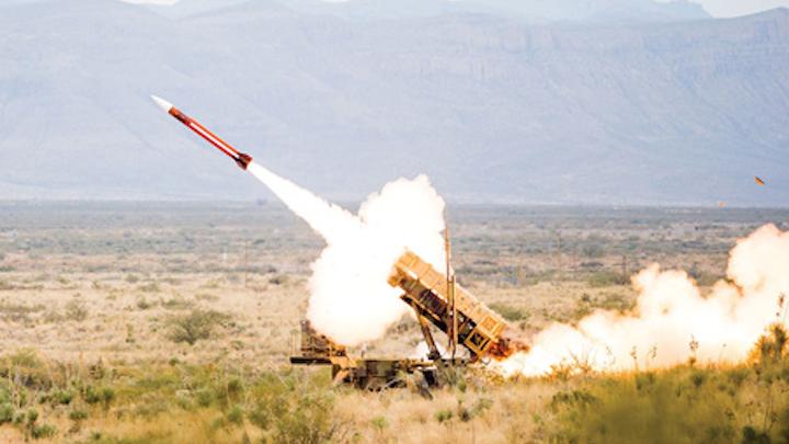 1608mae Rfm Patriot Missile