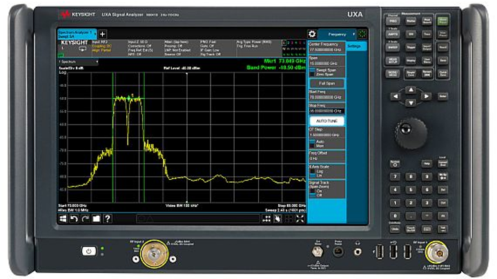 Signal analyzer for test and measurement at millimeter-wave frequencies offered by Keysight