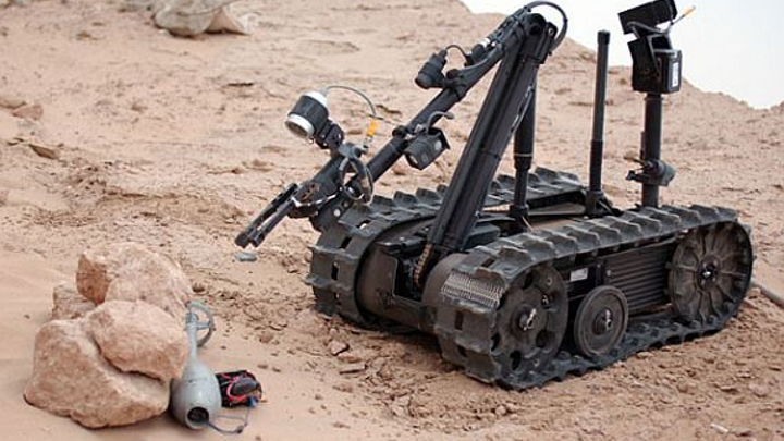 Navy orders new batch of unmanned ground vehicle (UGV) robots from QinetiQ for bomb disposal
