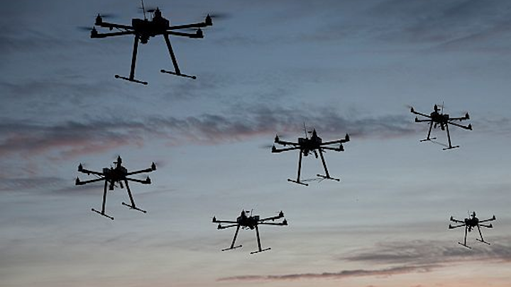 DARPA seeks to develop ways to swarm unmanned vehicles for better military reconnaissance