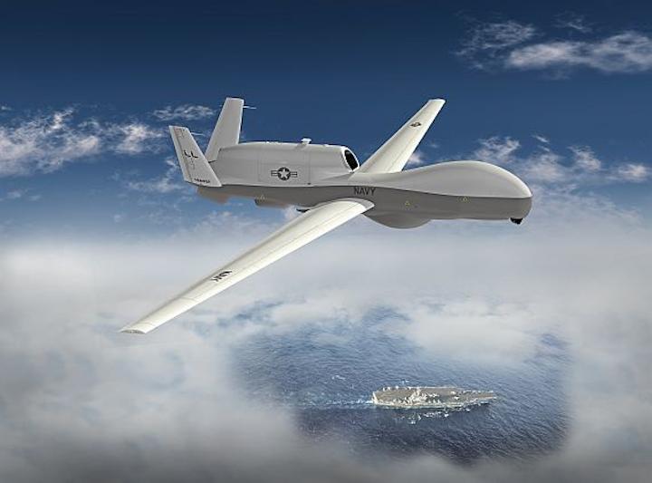 Navy asks Northrop Grumman to prepare for SIGINT upgrades to the MQ-4C Triton maritime patrol UAV