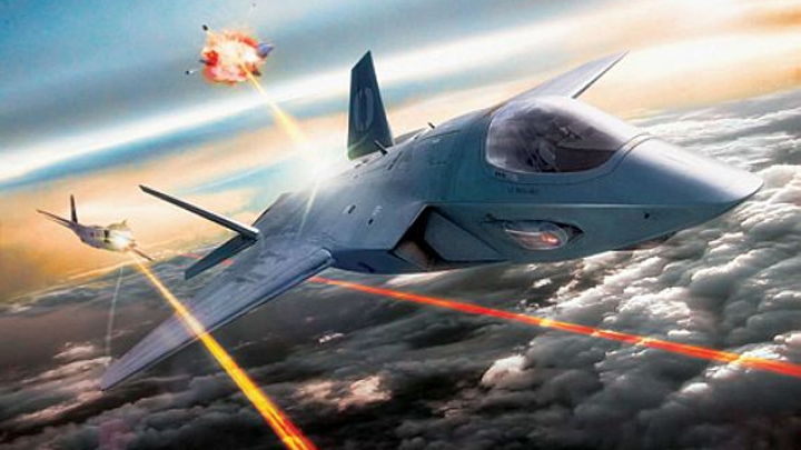 DARPA researchers want small fiber laser diode for laser weapons in future combat aircraft