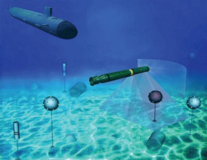 Navy surveys industry for small businesses able to build Barracuda UUV-based mine neutralizer