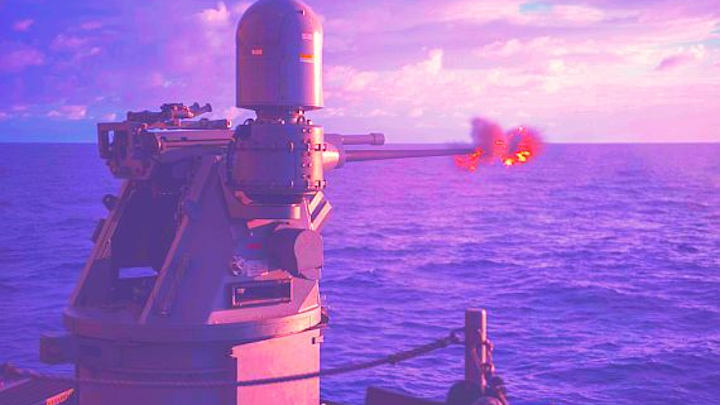 Raytheon to build prototype smart bullets to protect surface warships from swarming attacks