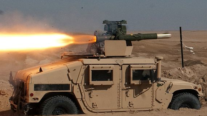 Raytheon to build TOW anti-tank missiles for military forces of Jordan and Saudi Arabia