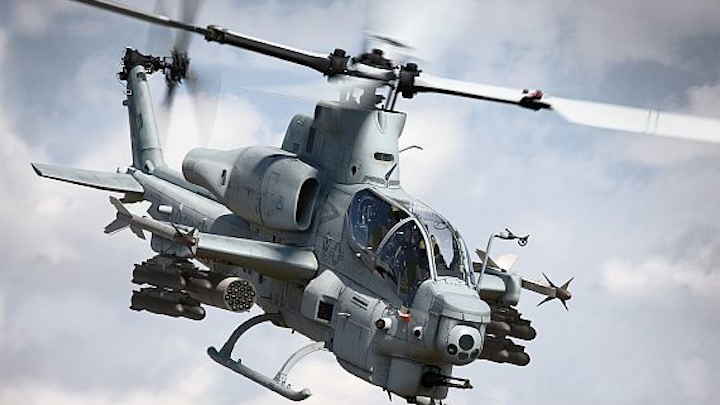 Bell prepares to build 27 new Marine Corps AH-1Z attack helicopters in $49.1 million contract