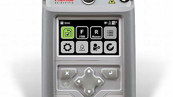 Software updates for rugged handheld chemical analyzer introduced by Thermo Fisher Scientific