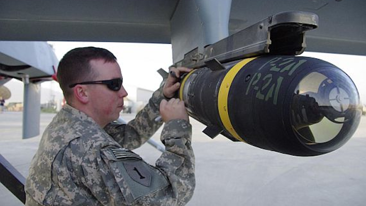 Lockheed Martin to build more AGM-114R laser-guided Hellfire missiles in $424.3 million order