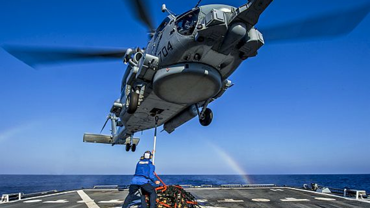 Elbit to provide electro-optics helmet-mounted displays for Navy MH-60R and MH-60S helicopters
