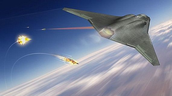 Air Force surveys industry for best companies to develop next-generation airborne laser weapons