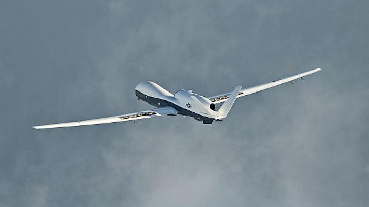 Navy orders three MQ-4C Triton long-range maritime surveillance UAVs for anti-submarine warfare (ASW)