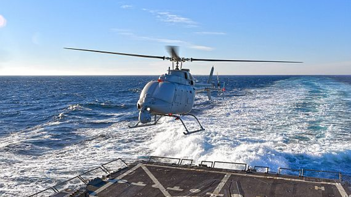 Northrop Grumman to install Leonardo surface-search radar aboard Navy MQ-8C unmanned helicopters