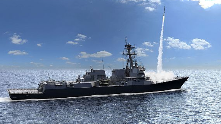 Raytheon to begin production of advanced shipboard radar system for guided missile destroyers