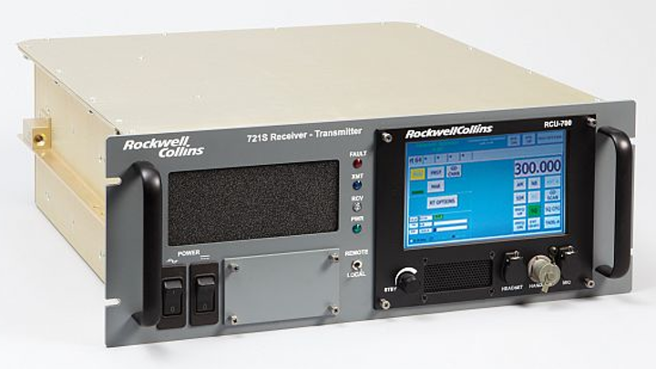Navy readies five-year contract to Rockwell Collins for high-power VHF-UHF radio transceivers