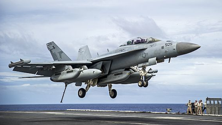 Navy asks BAE Systems to build F/A-18 aircraft antennas that cut through enemy GPS jamming