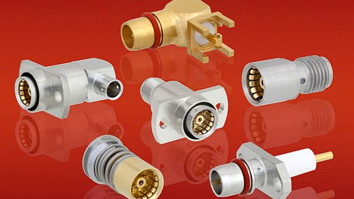 Low-VSWR BMA connectors for blind mating, RF backplanes, phased array systems introduced by Fairview