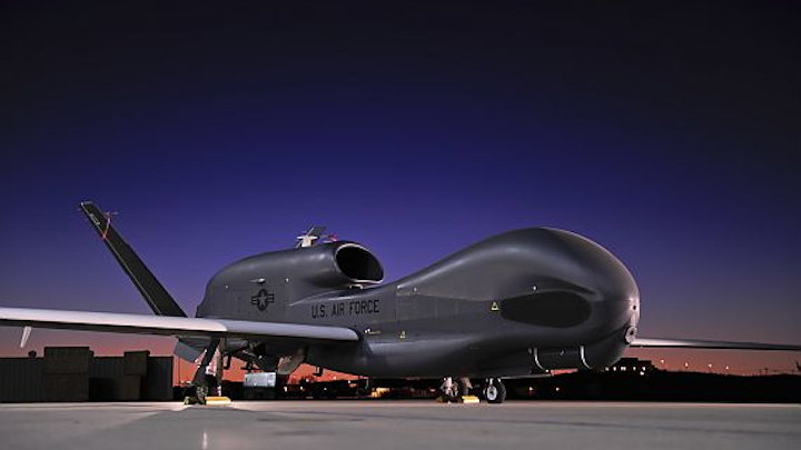 Raytheon to upgrade electro-optical surveillance sensor in Global Hawk Block 30 long-range UAV