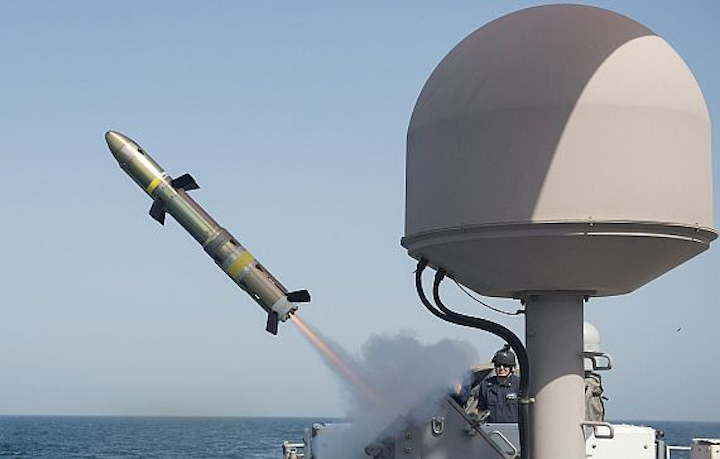 Air Force asks Raytheon to build lightweight missile to arm UAVs, surface warships, and aircraft