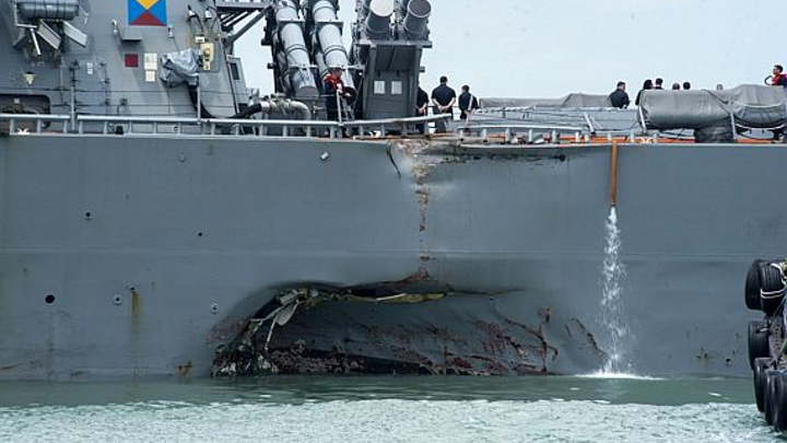 Two Navy surface warship maritime collisions in two months; what's going on in the Pacific?