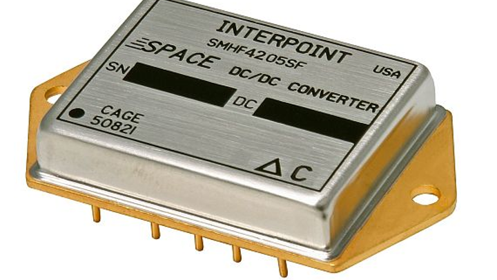 Radiation-tolerant DC-DC converters for satellites and other space applications introduced by Crane Aerospace