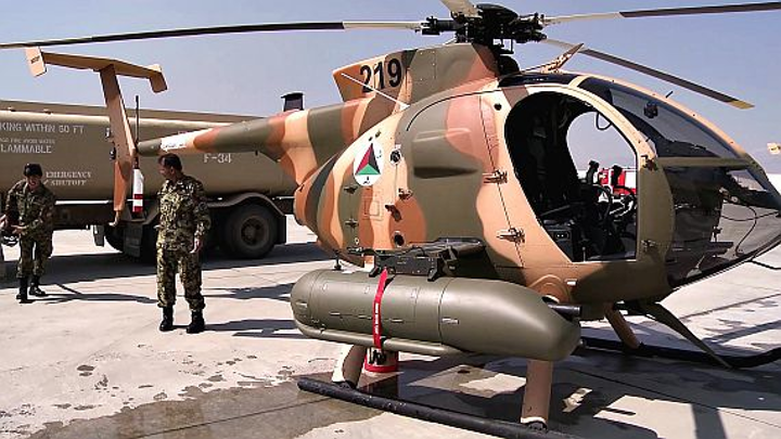 U.S. military orders 150 MD 530F high-altitude, hot-weather light helicopters for Afghanistan