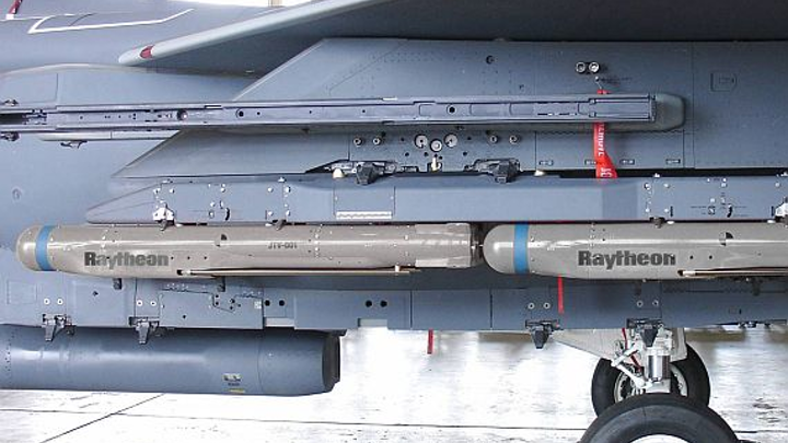 Raytheon hardening SDB II smart munitions against electromagnetic jamming and cyber attack