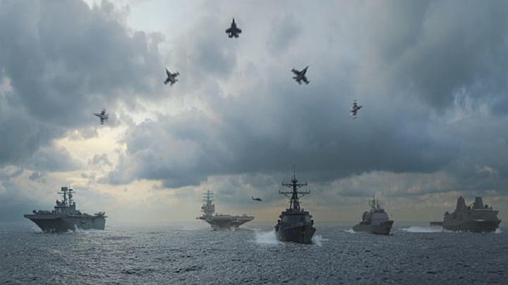 Transforming ocean warfare using networked systems of systems (SoS) for wide-area sea control
