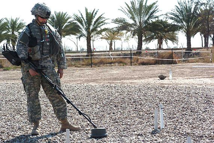 L-3 CyTerra to build mine-detection systems with ground-penetrating radar to find non-metallic explosives