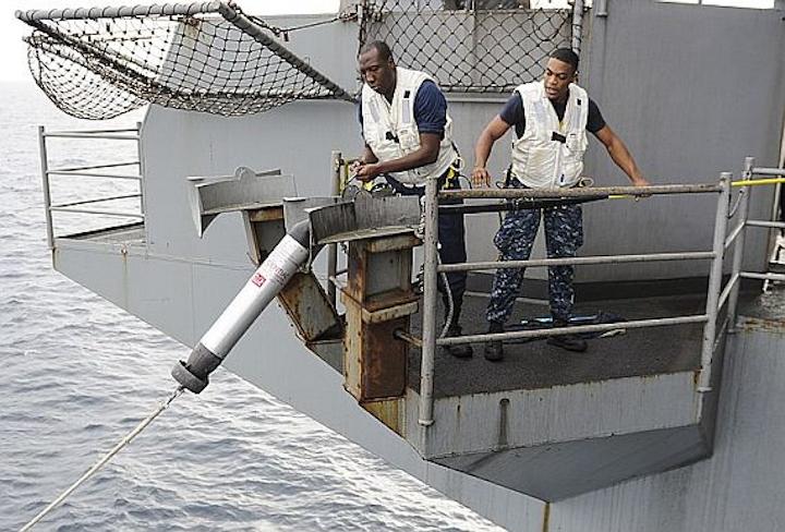 Navy chooses Argon ST to build eight additional shipboard torpedo-defense decoys