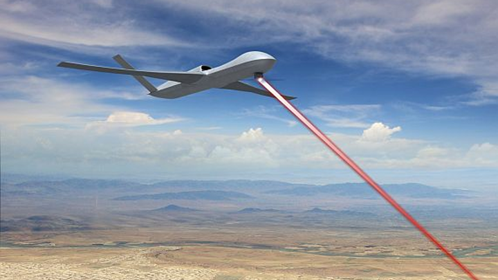 Lockheed Martin to develop UAV low-power laser weapons with an eye to countering ballistic missiles