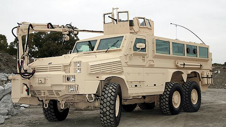 Army chooses rugged displays and embedded servers from GMS for Army mine-clearing vehicles