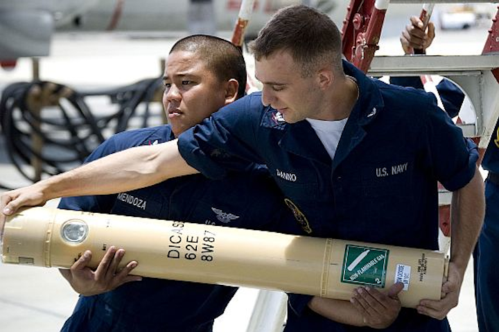 Navy places order for 166,500 anti-submarine warfare (ASW) sonobuoys in $219.8 million deal