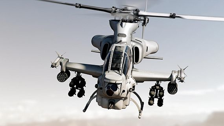 Two AH-1Z Viper attack helicopters and avionics ordered for the Marine Corps in $38.3 million deal