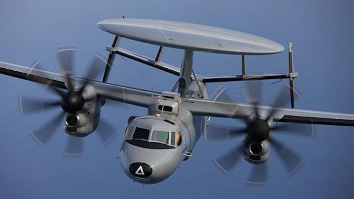 Navy orders SWaP-optimized high-power RF amplifier for JTIDS data radios on E-2D aircraft
