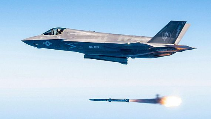 Navy seeks simulations of rapidly changing airborne threats to help enhance F-35 strike fighter targeting
