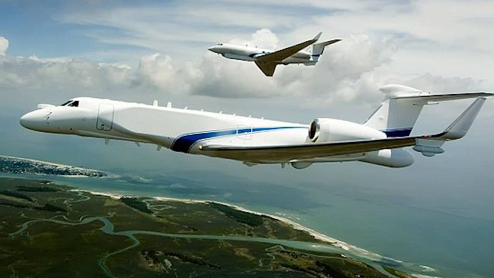 Raytheon to provide telemetry and transmitter avionics for new Navy G550 test range aircraft