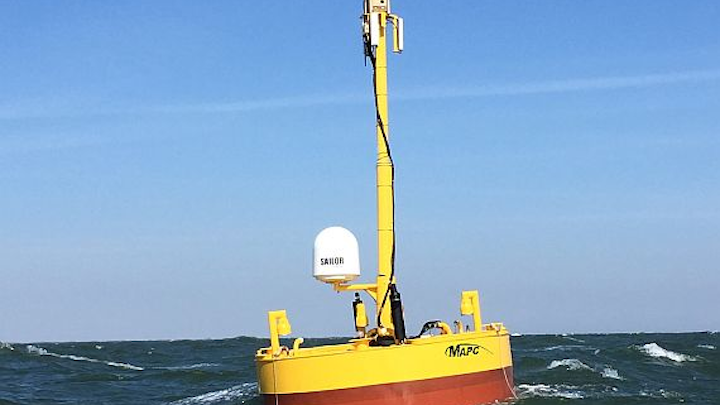 DARPA eyes ocean surveillance with sensor floats