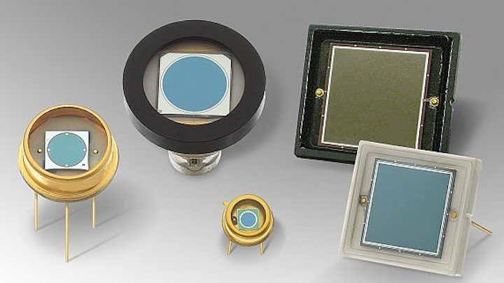 Silicon photodiodes for electro-optical applications that block near-infrared introduced by OSI