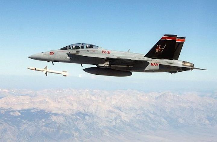 Navy asks Orbital ATK to upgrade embedded computing components in AARGM radar-killing missile