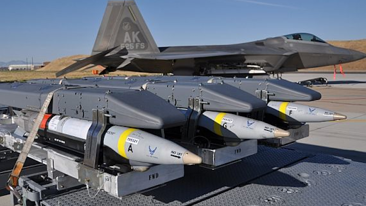 Air Force taps Boeing to build additional 6,000 GBU-30 small-diameter bomb (SDB) smart munitions