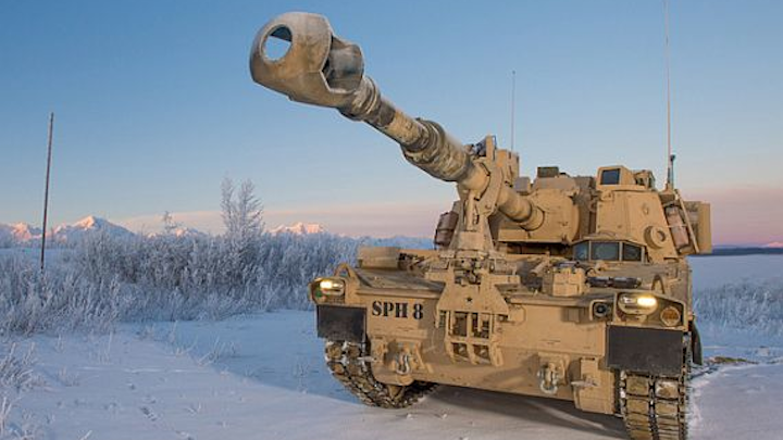 More heavy armor: Army orders 228 155-millimeter self-propelled artillery in $227.9 million deal